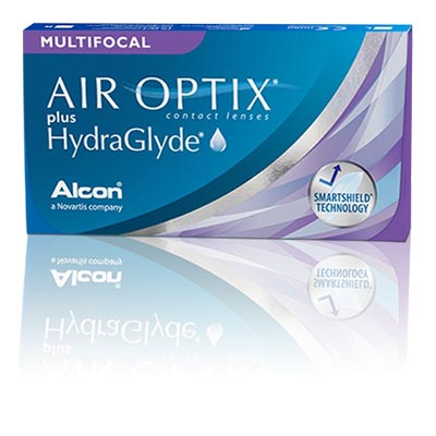 AIR OPTIX® plus HydraGlyde® MULTIFOCAL (3 db)