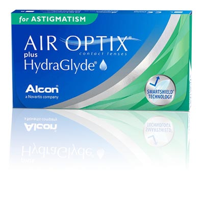AIR OPTIX® plus HydraGlyde® for Astigmatism (3 db)