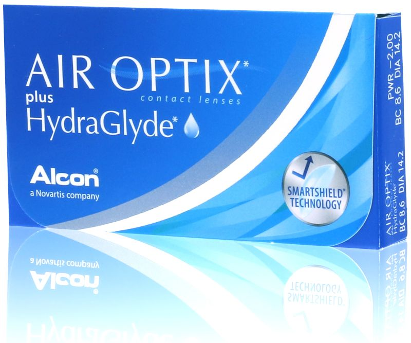 AIR OPTIX Plus HydraGlyde® (3 db)