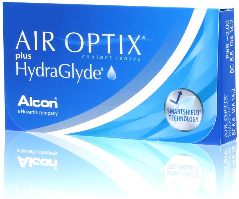 AIR OPTIX Plus HydraGlyde® (6 db)