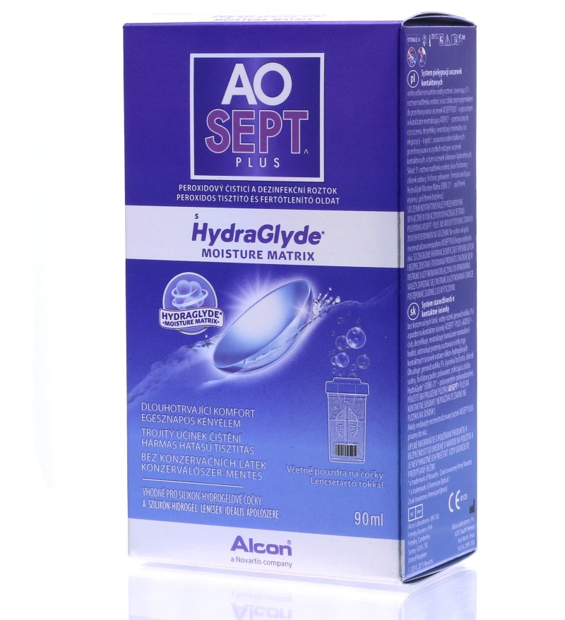 AoSept Plus with HydraGlyde (90 ml)