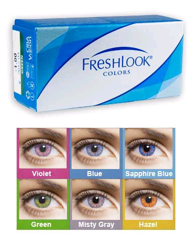 FreshLook® Colors® UV (2 db)