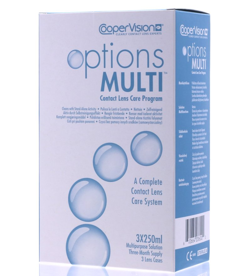 Options Multi (3*250 ml)
